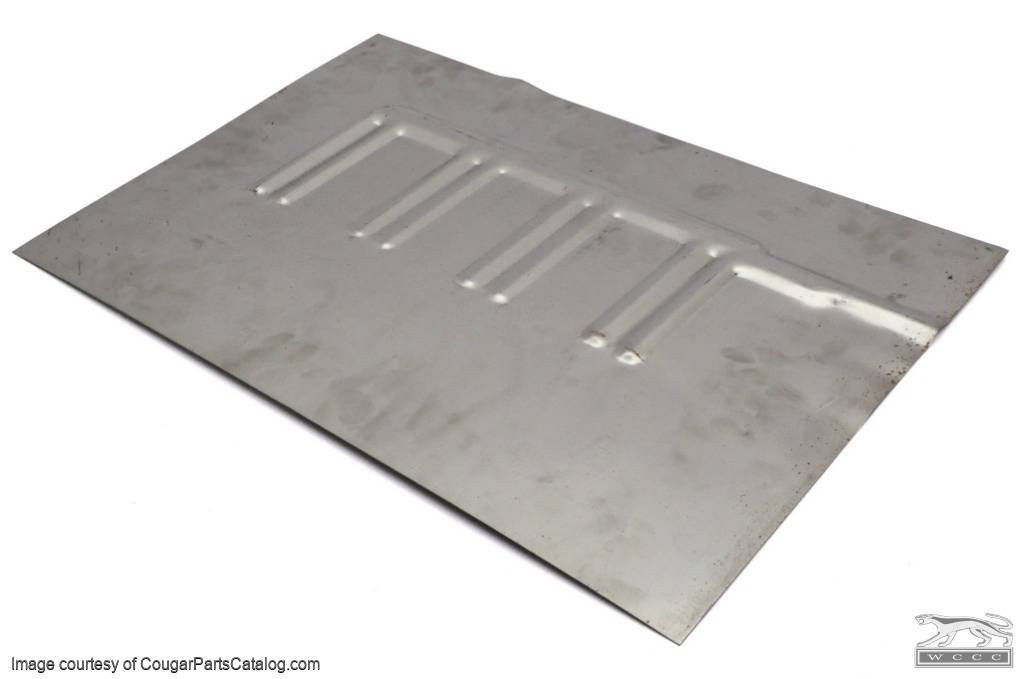 Floor pan patch convertible driver side repro 1969 for 1970 mustang floor pans