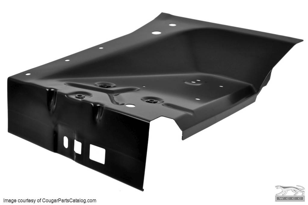 Rear Inner Apron - Driver Side - Repro ~ 1967 - 1968 Mercury Cougar - 1967 - 1968 Ford Mustang - 41633