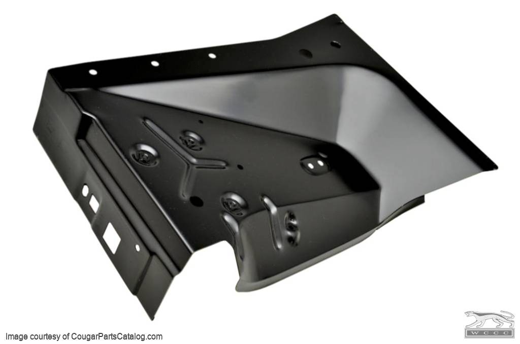 Rear Inner Apron - Driver Side - Repro ~ 1969 - 1970 Mercury Cougar / 1969 - 1970 Ford Mustang - 41686