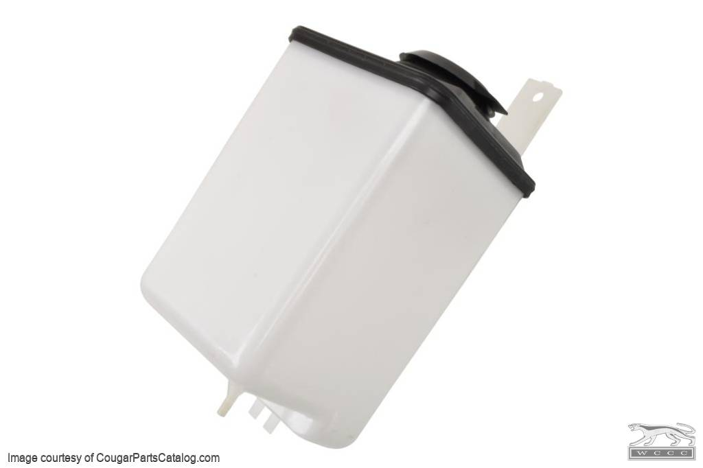Windshield Washer - Reservoir - Repro ~ 1969 - 1970 Mercury Cougar / 1969 - 1970 Ford Mustang - 41696