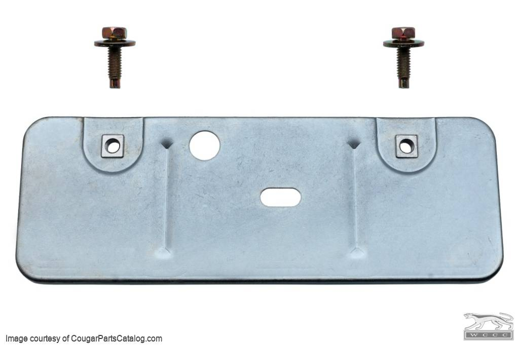 Battery Tray - Reinforcement Bracket - Lower - Front Apron - Premium - Repro ~ 1969 - 1970 Mercury Cougar / 1969 - 1970 Ford Mustang - 41848