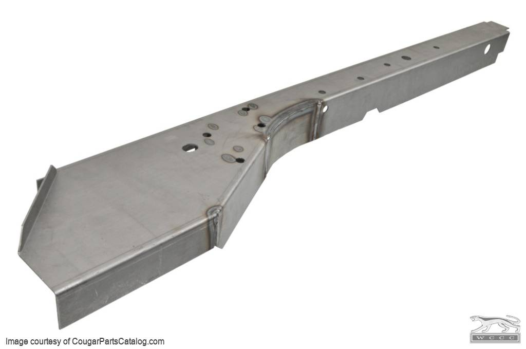 Inner and Outer - Front Frame Rail - Driver Side - Repro ~ 1967 - 1970 Mercury Cougar / 1967 - 1970 Ford Mustang - 42397