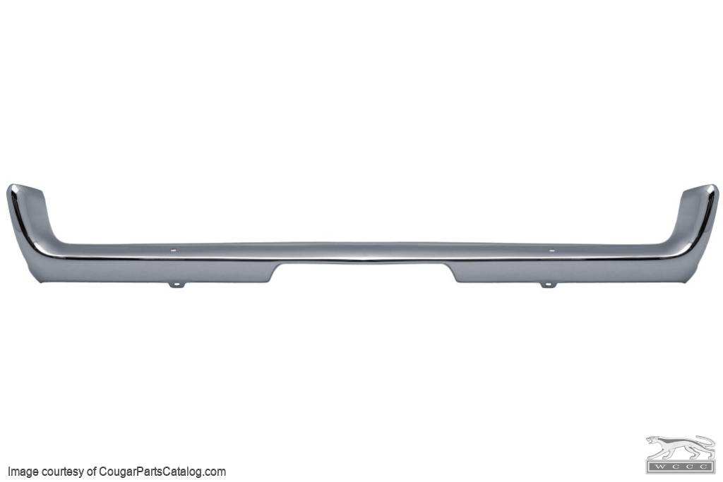 Bumper - Front - Restored - PRE-PAY CORE CHARGE ~ 1967 - 1968 Mercury Cougar - 42507
