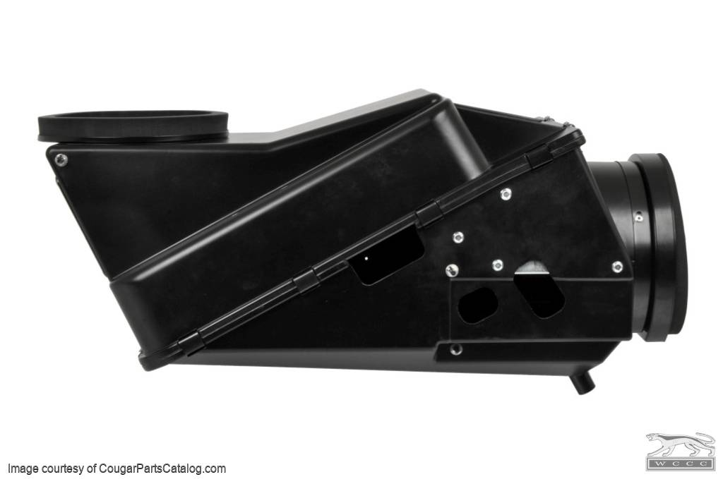 Heater Box - With A/C - Repro ~ 1967 - 1968 Mercury Cougar / 1967 - 1968 Ford Mustang - 47896