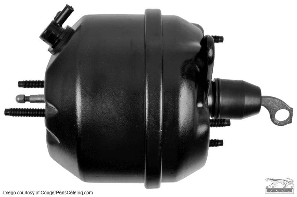 Brake Booster - Midland Power Brake - PREMIUM - Rebuilt - PRE-PAY CORE CHARGE ~ 1967 - 1969 Mercury Cougar / 1967 - 1969 Ford Mustang - 25921