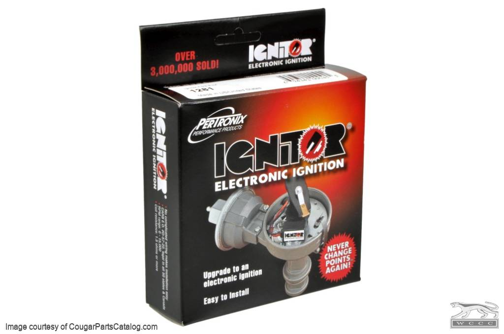 Distributor - Point Conversion - Pertronix Ignitor 1 - New ~ 1967 - 1973 Mercury Cougar / 1967 - 1973 Ford Mustang - 53264