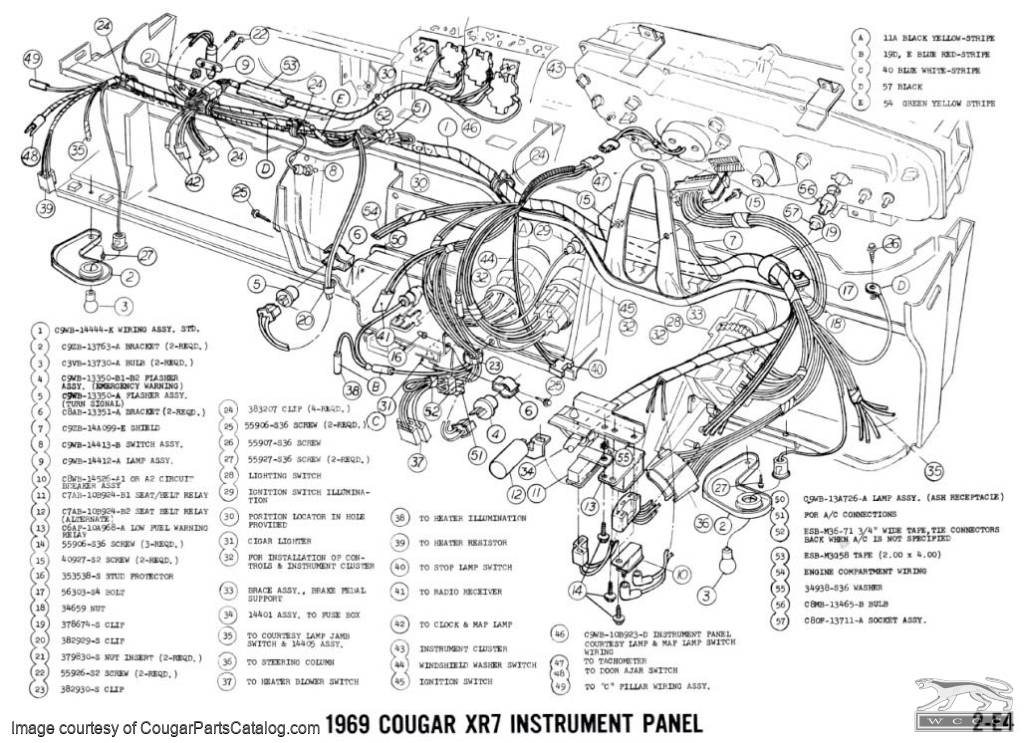 13497 Manual  plete Electrical Schematic Free Download 1969 Mercury Cougar on engine wiring diagram for 1977 camaro