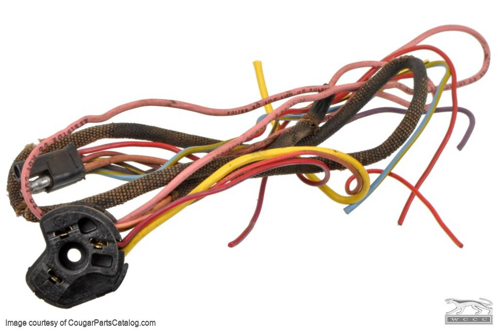 wiring pigtail under dash harness ignition switch plug OEM Engine Wire Harness M104 Wiring Harness Replacement