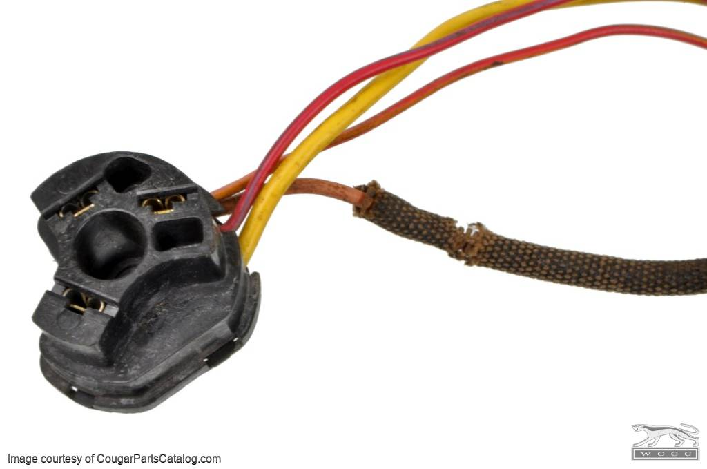 wiring pigtail under dash harness ignition switch plug