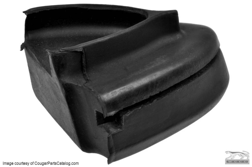 Corner Filler - Rear Bumper - Passenger Side - Grade A - Used ~ 1967 - 1968 Mercury Cougar - 15715