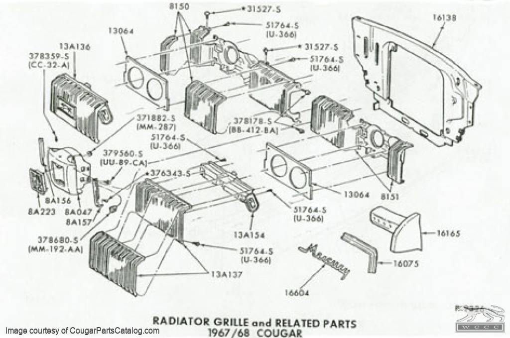 67 ford f100 parts catalog
