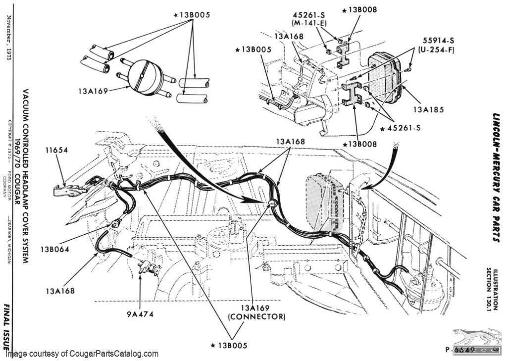 69 Cougar Dash Wiring Diagram