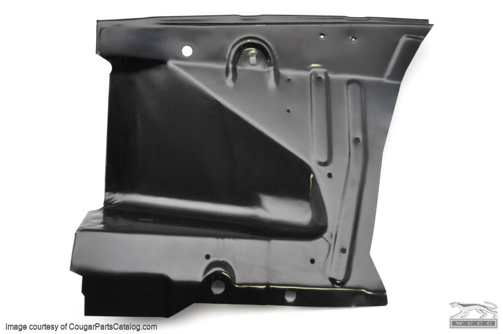Front Inner Apron - Passenger Side - Repro ~ 1971 - 1973 Mercury Cougar - 1971 - 1973 Ford Mustang - 19698