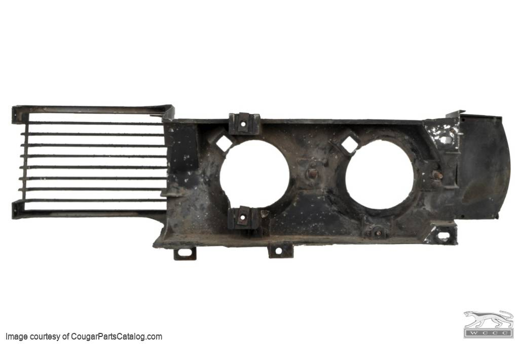 Grille - Complete - Grade A - Used ~ 1969 Mercury Cougar - 19401