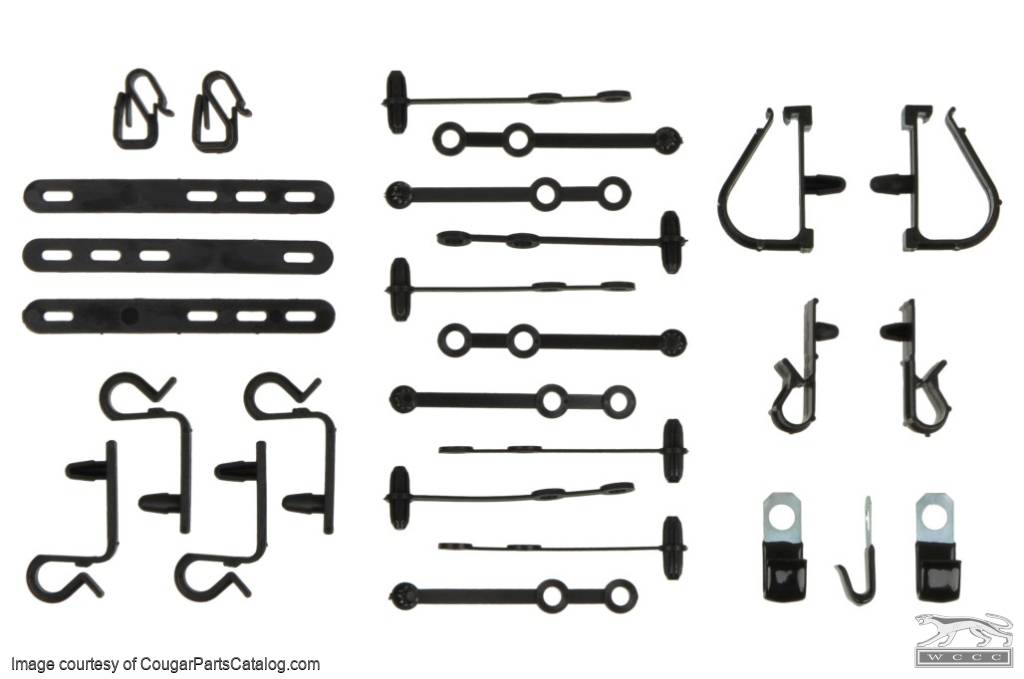 wiring clip kit - repro