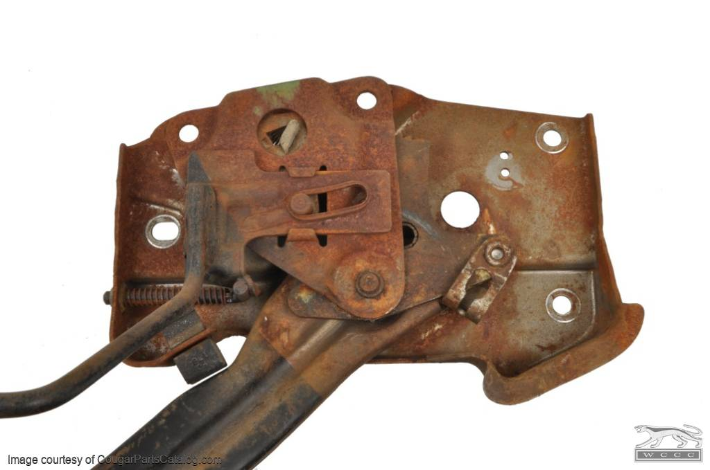 Emergency / Parking Brake Assembly - Used ~ 1969 Mercury Cougar / 1969 Ford Mustang - 27264