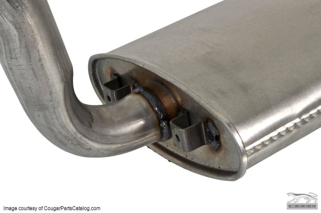 Dual Exhaust System - 428CJ - OEM Style - Repro ~ 1968 - 1970 Mercury Cougar - 27389