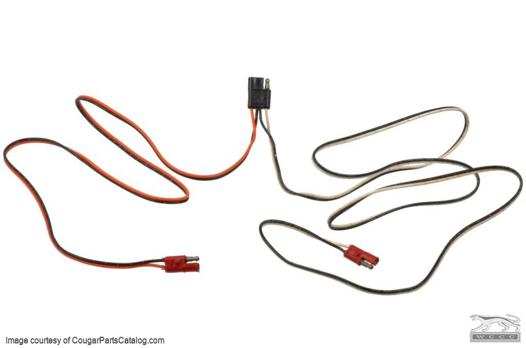 Wiring Harness - Stereo Speaker   1971 Ford Mustang  27428  At West