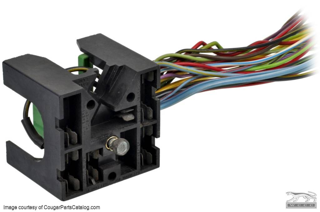 1368645443_k wiring fuse block w wire leads xr7 used ~ 1969 1970  at bakdesigns.co