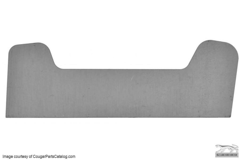 TEMPLATE - Reinforcement Plates - Shock Tower - Weld In - New ~ 1967 - 1970 Mercury Cougar / 1967 - 1970 Ford Mustang - 97979