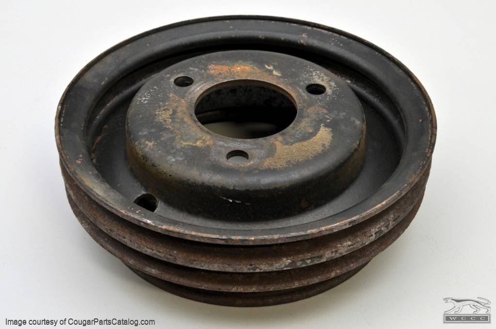 Pulley - Crankshaft - 428CJ - C9OE-6312-D - Used ~ 1969 - 1970 Mercury Cougar / 1969 - 1970 Ford Mustang - 24636