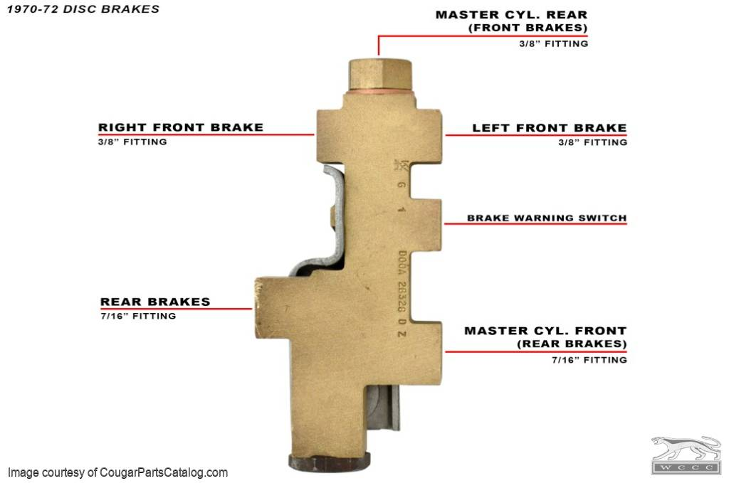 D0OZ 2B257 C_Diagram 1028 distribution block power disc brake repro ~ 1970 1973 Mazda B4000 Fuse Box Location at readyjetset.co
