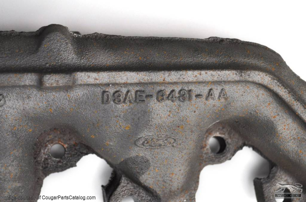 Exhaust Manifold - 351C-2V - Driver Side - Used ~ 1971 - 1973 Mercury Cougar / 1971 - 1973 Ford Mustang - 25397