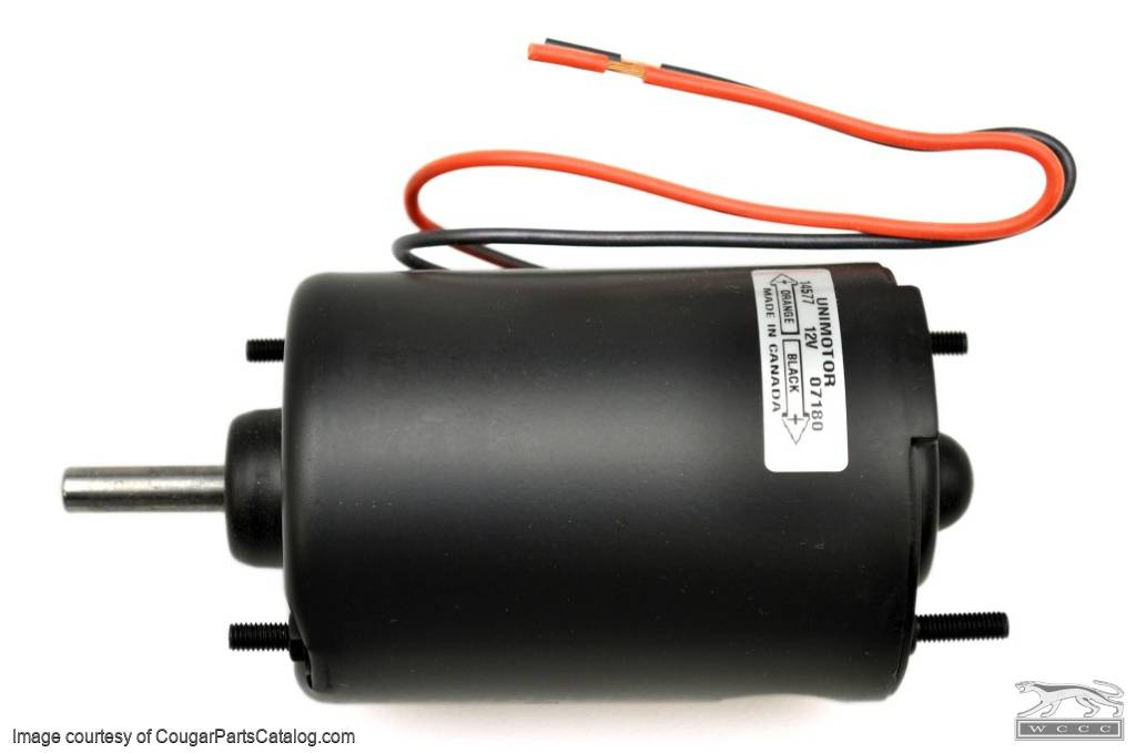 Heater Blower Motor - Without A/C - Repro ~ 1969 - 1973 Mercury Cougar - 1969 - 1973 Ford Mustang - 19955