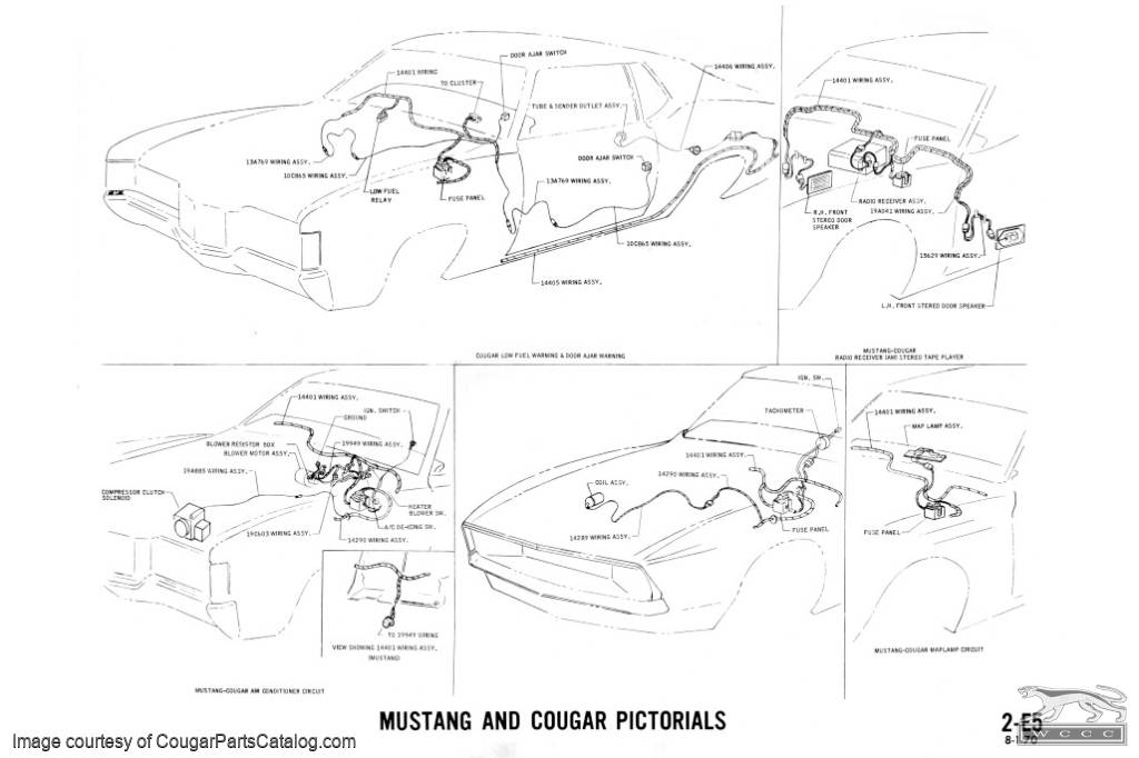 Manual - Complete Electrical Schematic - Free Download for 1973 Mercury  Cougar at West Coast Classic Cougar :: The Definitive 1967 - 1973 Mercury  Cougar Parts SourceWest Coast Classic Cougar