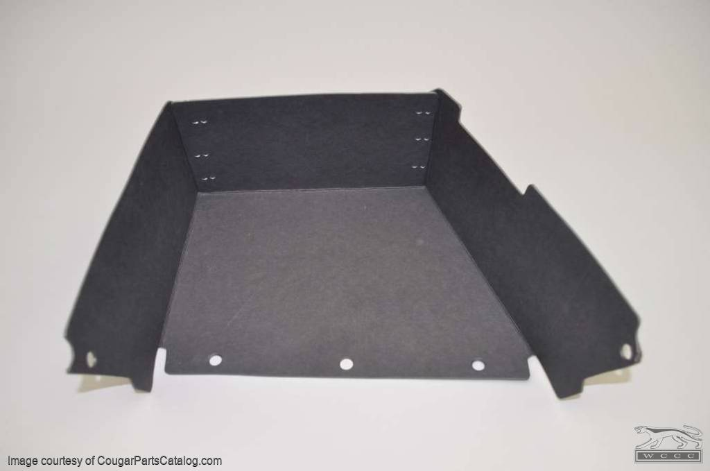 Glovebox Liner without Air - Repro ~ 1971 - 1973 Mercury Cougar - 1971 - 1973 Ford Mustang - 42031