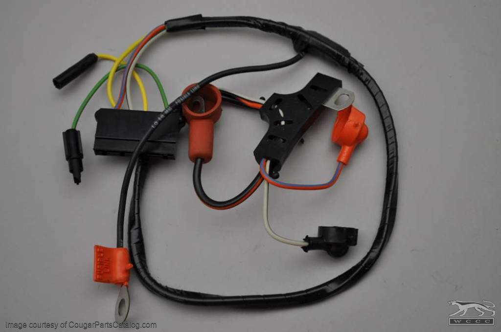 Alternator Wiring Harness - Standard - Economy   1971 Ford Mustang