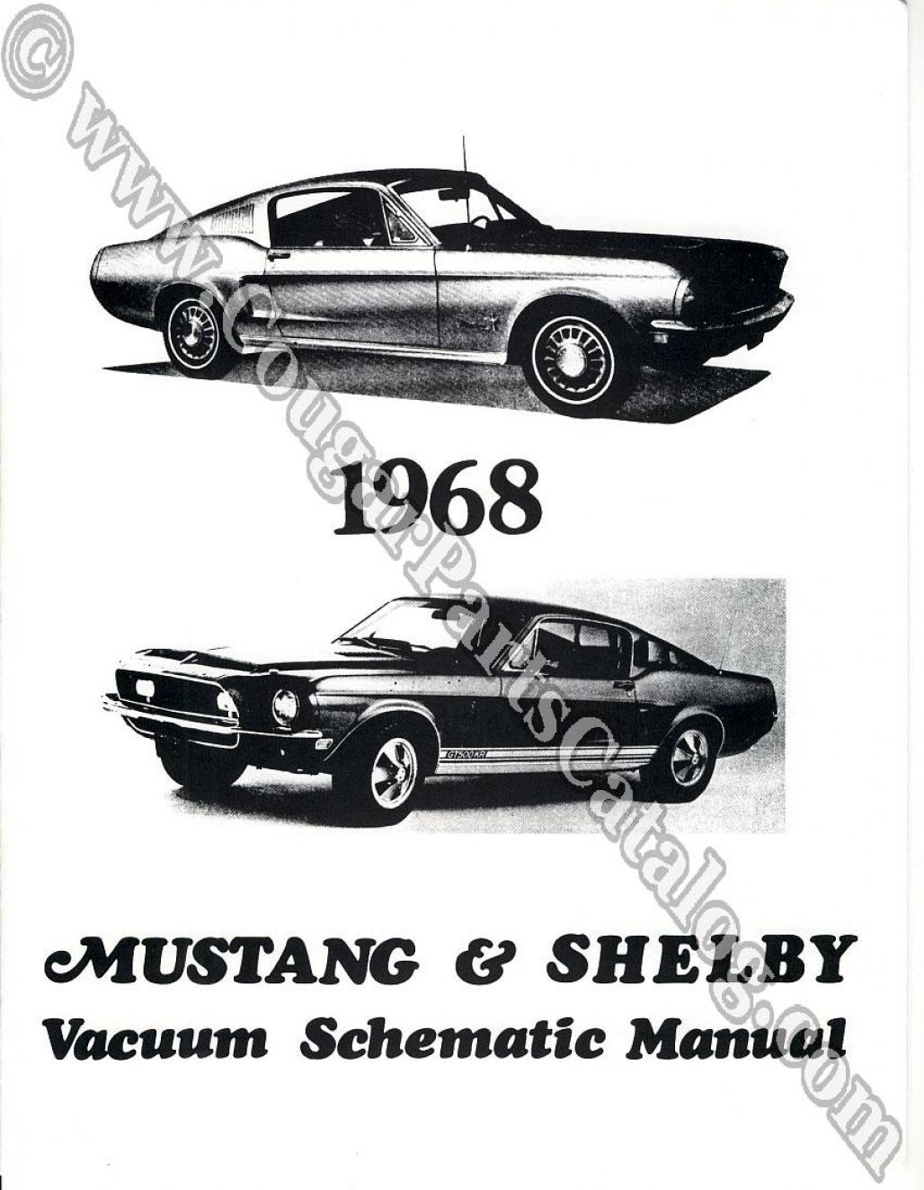 Manual Vacuum Schematic W Cougar Headlight Schematic For 1968 Mercury Cougar 1968 Ford Mustang At West Coast Classic Cougar The Definitive 1967 1973 Mercury Cougar Parts Source
