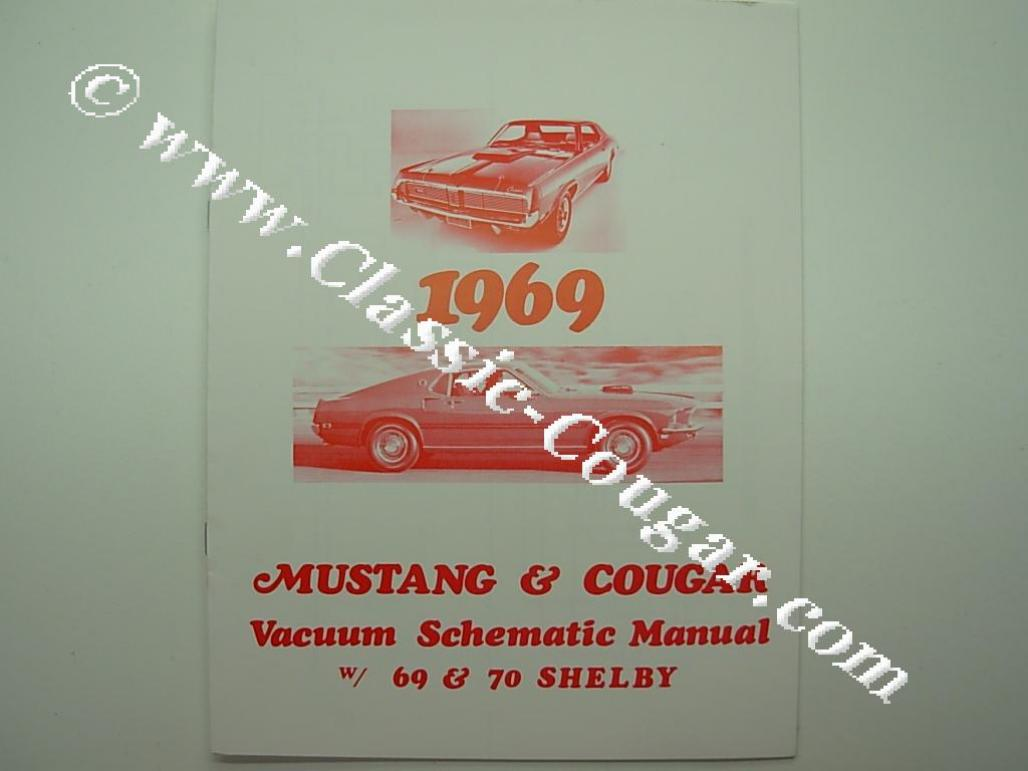 1969 Cougar Vacuum Schematic Diagrams Ford Mustang Diagram Manual Repro Mercury 2002 Durango Line