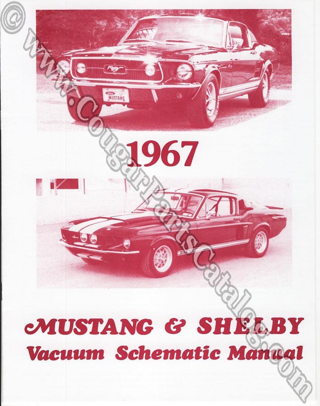 vacuum schematic manual repro 1967 mercury cougar 1967 ford rh secure cougarpartscatalog com 1966 Mustang Horn Wiring Diagram 1965 Mustang Wiring Diagram for Lighting