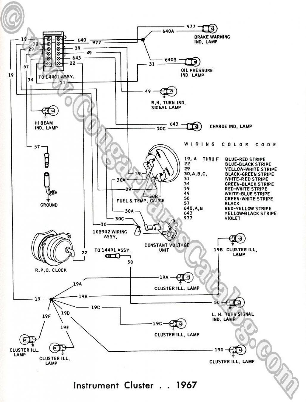 2000 Mercury Cougar Wiring Diagram