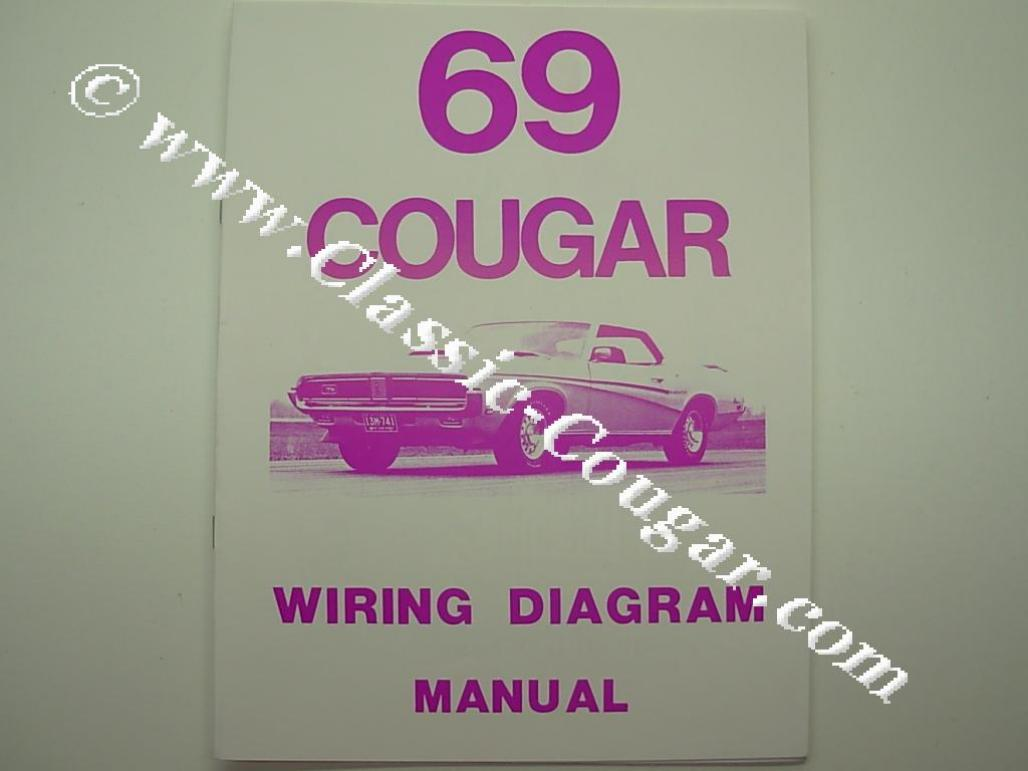 1969 Mercury Cougar Wiring Diagram Smart Diagrams Plymouth Barracuda Manual Reprint Get Free Repro Rh Secure Cougarpartscatalog Com Mustang