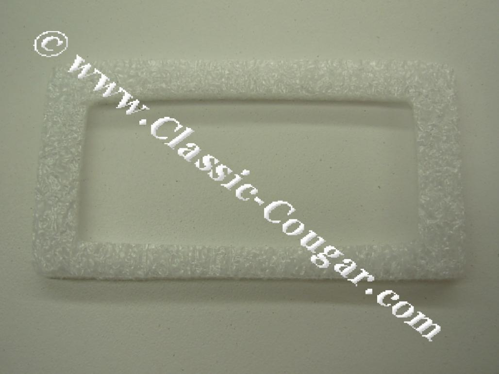 Gaskets - Side Marker Light Lens To Chrome Bezel - PAIR - Repro ~ 1970 Mercury Cougar / 1970 Ford Mustang - 26112