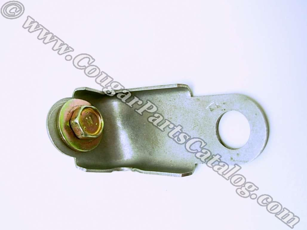 Bracket - Battery Hold Down - Repo ~ 1971 - 1973 Mercury Cougar / 1971 - 1973 Ford Mustang - 26500