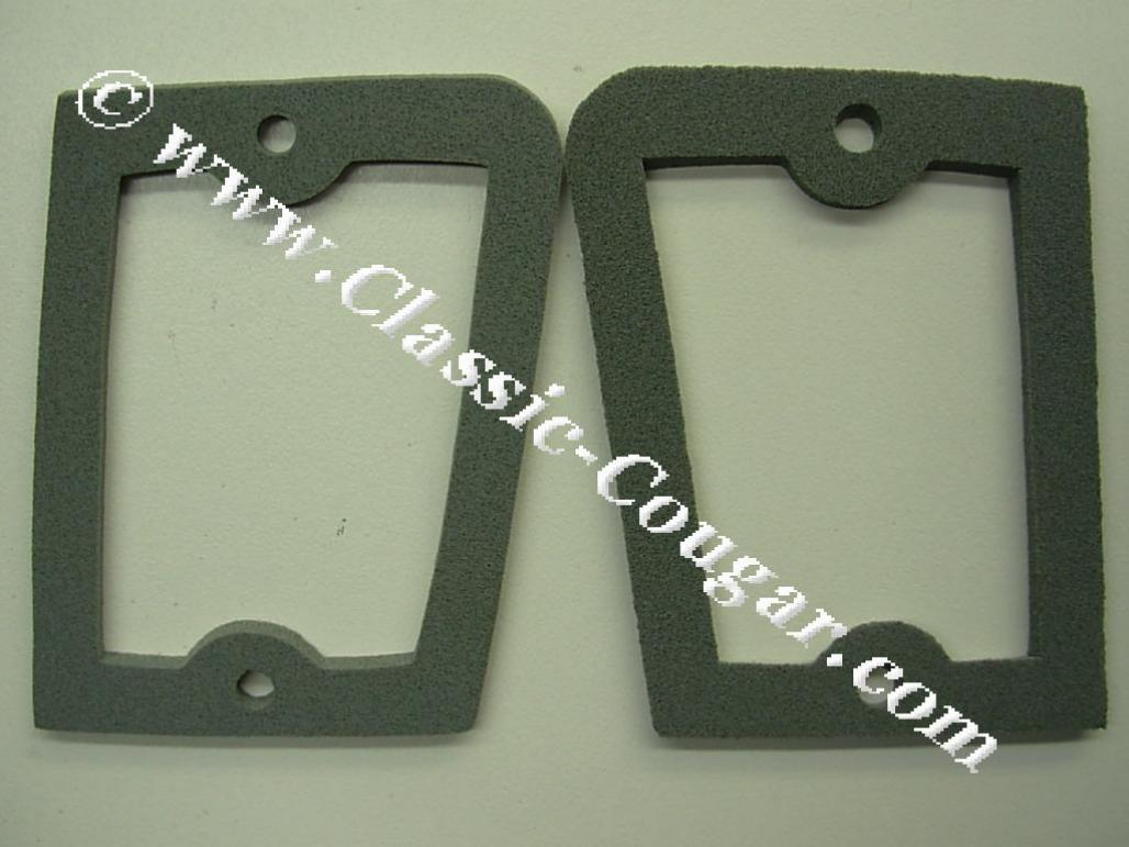 Gaskets - Backup / Reverse Light Lens - Repro ~ 1969 - 1970 Mercury Cougar - 26587