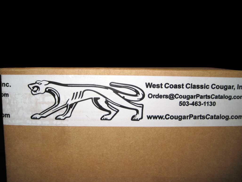 West Coast Classic Cougar Packing Tape - New - 26792