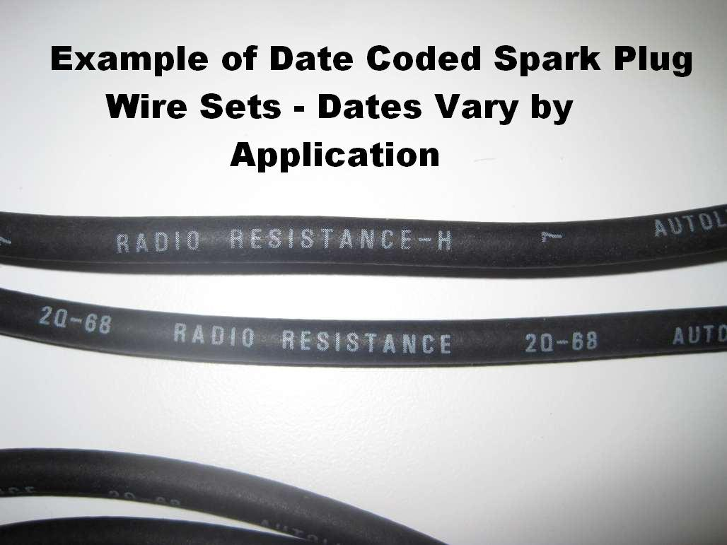 351C Concours Spark Plug Wire Set - Repro ~ 1971 Mercury Cougar - 1971 Ford Mustang - 10571