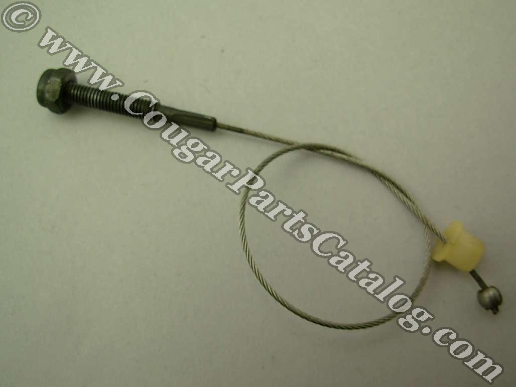 Shift Release Cable - Automatic Trans - Used ~ 1967 - 1973 Mercury Cougar / 1967 - 1973 Ford Mustang - 41372
