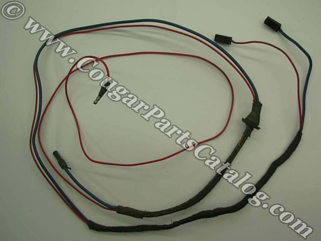 Wiring Harness - Under Dash To Under Hood - Power Window - Grade A - Used ~ 1969 - 1970 Mercury Cougar - 27462