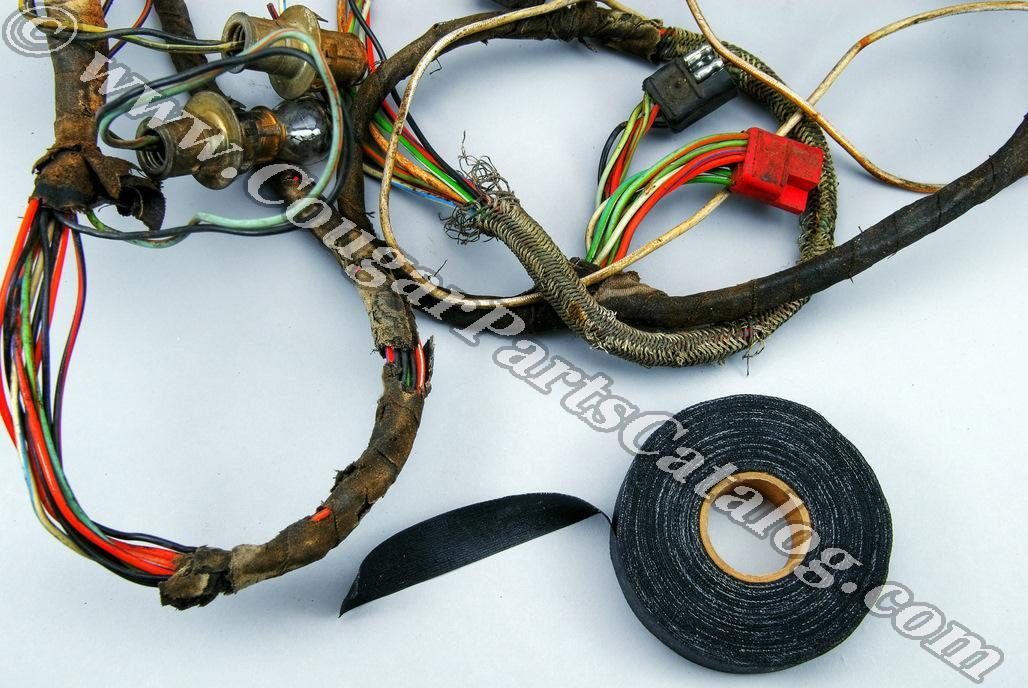 1001433 electrical cloth friction tape repro ~ 1967 1973 mercury friction tape wire harness at reclaimingppi.co
