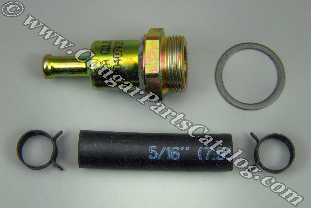 fuel filter - factory holley - repro
