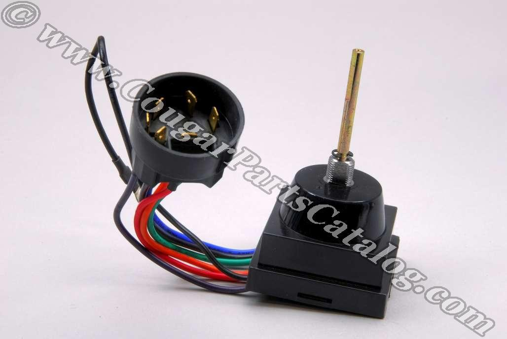 Intermittent - Delay Wiper Switch - Repro ~ 1971 - 1973 Mercury Cougar / 1971 - 1973 Ford Mustang - 41505