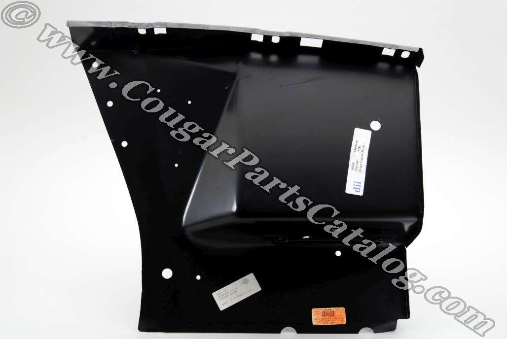Inner Apron - Front - Passenger Side - Repro ~ 1967 - 1968 Mercury Cougar / 1967 - 1968 Ford Mustang - 41627