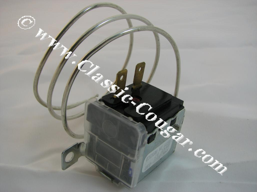 Switch - A/C Thermostat Control - Repro ~ 1967 - 1973 Mercury Cougar / 1967 - 1973 Ford Mustang - 41791