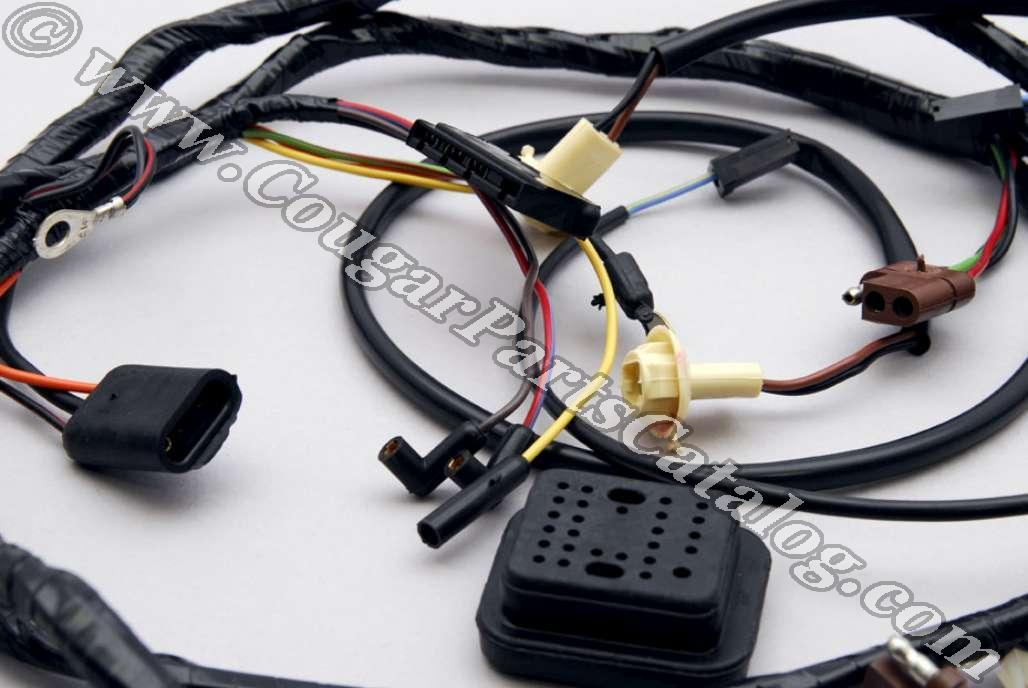 Dash Panel to Headlight Wiring Harness without Tach