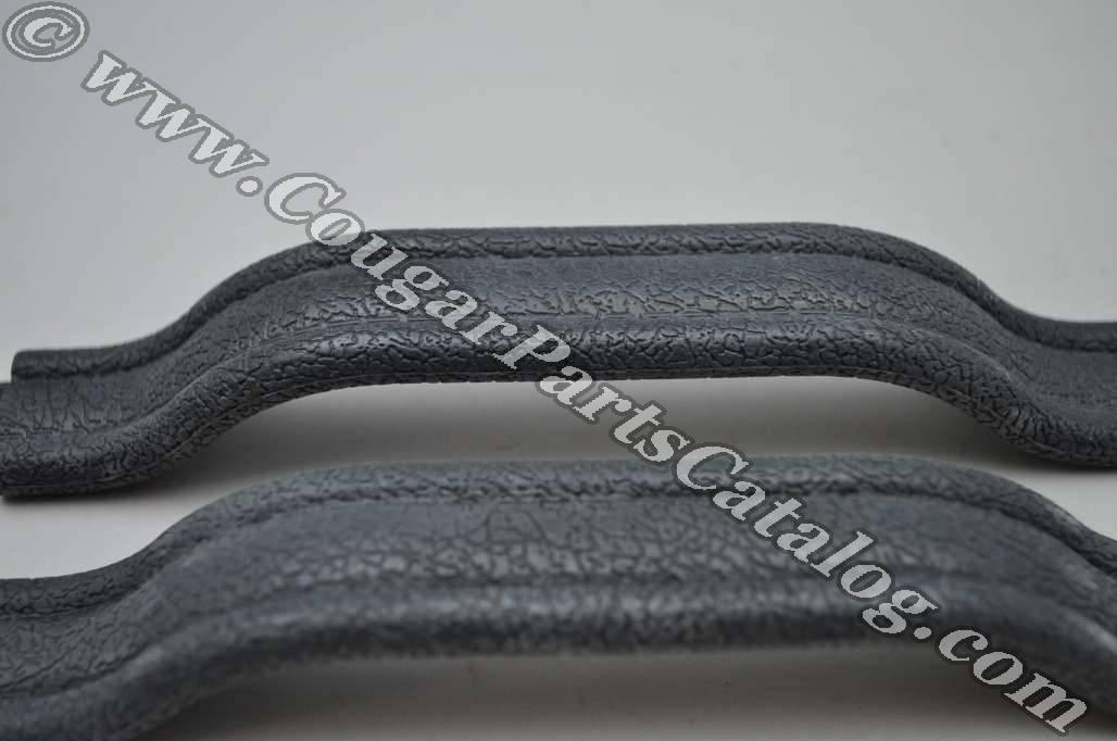 Door Pull Strap - Deluxe / XR7 - BLUE - PAIR - Repro ~ 1967 - 1968 Mercury Cougar / 1967 - 1968 Ford Mustang - 42043